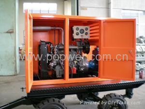 柴油机自吸排污泵 5