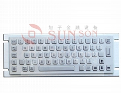metal keyboard (industrial keyboard, kiosk keyboard)