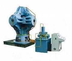 六面顶液压机控制系统