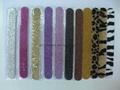 glittering nail file