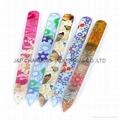 Nail Files Durable Crystal Glass File Buffer Manicure