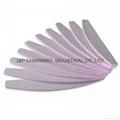 100/180 Slim Emery Gray Nail Buffer Sanding Sandpaper Nail Files Manicure