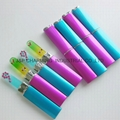 Durable Crystal Glass Nail Nail File diamond decorated ,with case