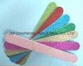 random colour glitter nail file eva emery board personal nail file manicure too