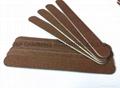 wood Nail Files Wooden emery board and natural nail file
