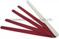 wooden emery board sandpaper file nail art file manicure tool 180/240