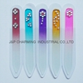 Multiple styles diamond glass nail file tools New Fashion