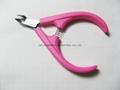 Professional Nail scissor Cuticle Nipper Clipper Manicure plastic handle