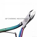 Cuticle Scissors Colorful Nipper Manicure Nail Clipper Cutter Trimmer Manicure N