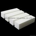 90x25x25mm White Nail  Buffer nail Block
