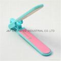 Folding Nail File Buffing Round Edge Stick Nail Art Tool