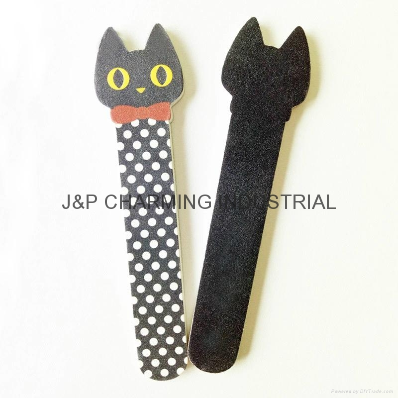 cute emery board,nail file with animal design - China - Manufacturer -