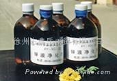 purifying agent for molten zinc