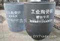 """""""industrial ceramic"""" zinc pot"""