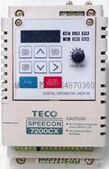 TECO原裝臺灣東元變頻器7200MA