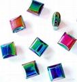 Rainbow Magnetic Hematite beads