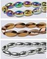 Metallic Magnetic Hematite bead