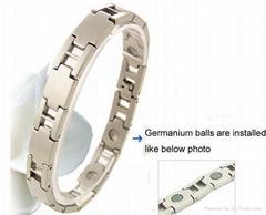 Titanium magnetic Health Bracelet