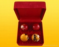 Chinese Healthy Massage ball with Chiming Set