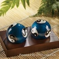Chinese cloisonne Exercise Balls