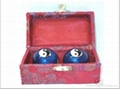 Chinese cloisonne Exercise Balls 3