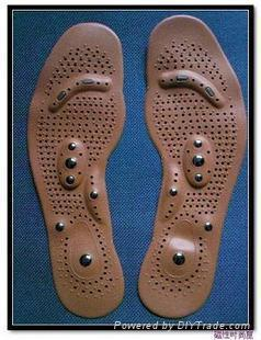 magnetic real leather insole  4