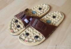 Jade massage shoe & slip