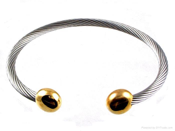Stainless Steel Wire Magnetic Bangle Esen 745 Esen