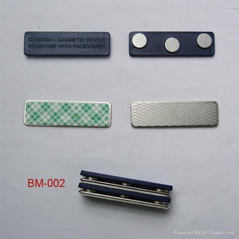 Magnetic Business Card Badge Holder 3