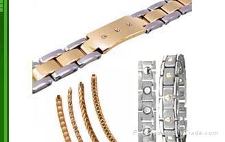 不鏽鋼磁療手鏈 2