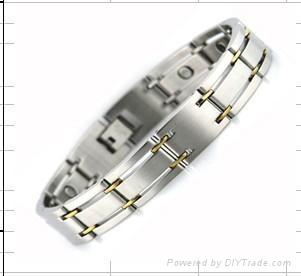 不鏽鋼磁療手鏈 4