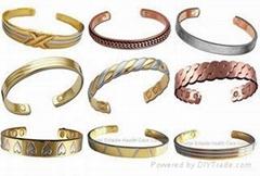 磁疗铜手链