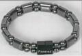 hematite bracelet , magnetic hematite bangle