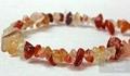 gemstone chip(Rose Quartz Bead)