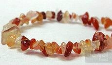 gemstone chip(Rose Quartz Bead)