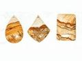 gemstone pendant (rhodonite pendant)
