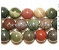 moss & fancy jasper beads