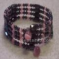 hematite bracelet , magnetic hematite