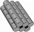 N48 Cylinder NdFeB Magnets