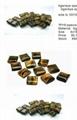 Semi-Precious stone spacers beads