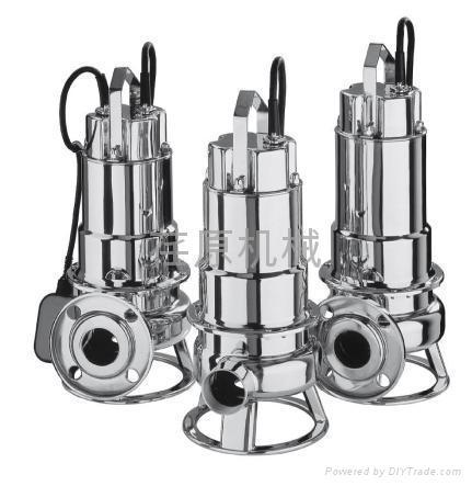 不锈钢排污泵 1