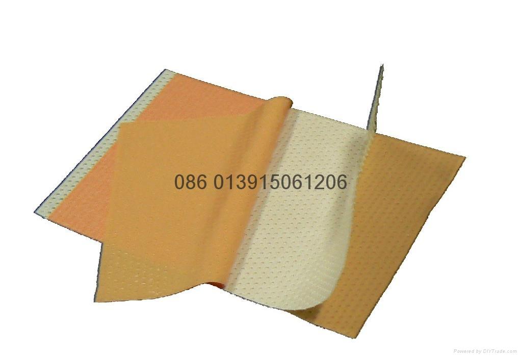 风湿膏药贴双面打孔复合收卷机 2