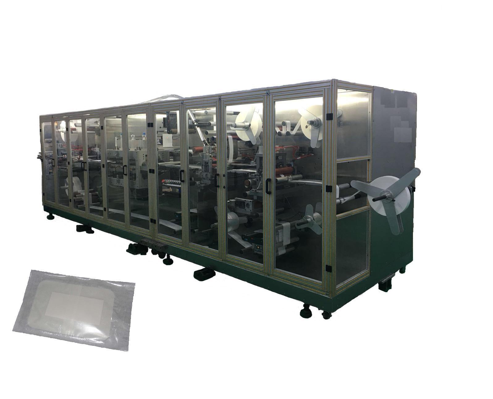 High Speed Adhesive wound dressing making machine