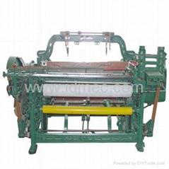 Gauze fabric shuttle loom