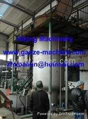 Absorbent cotton machinery