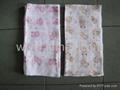 100% cotton baby napkin