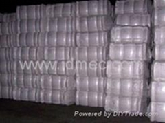 bleached cotton bale