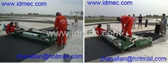 Synthetic Rubber Sports Track Machine