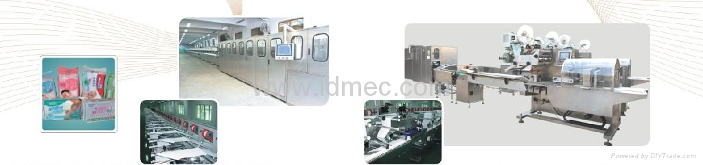 wet tissue machine 1