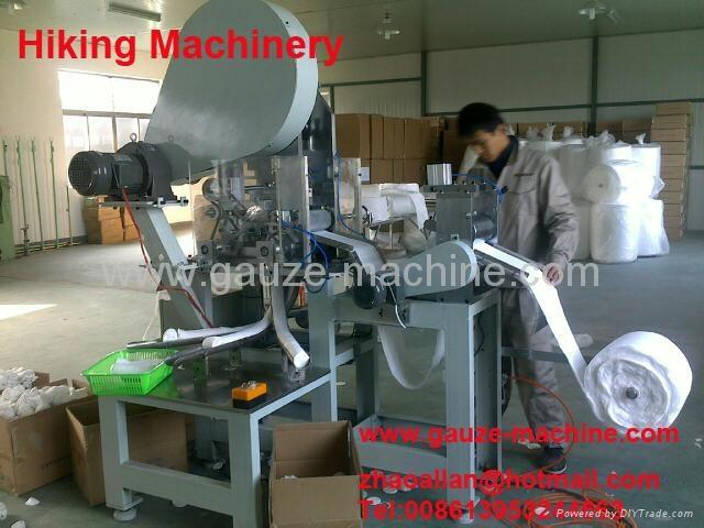 make-up cotton machine
